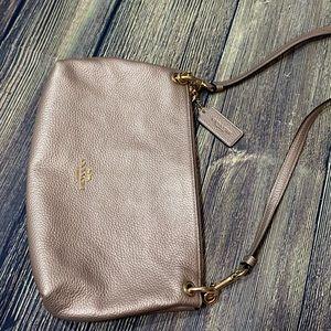 Coach Bags - Coach Rose Gold purse/crossbody gold hardware